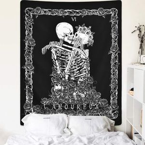 Lethal Lovers Gothic Theme Wall Tapestry NEW